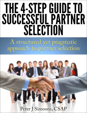 4step partner selection guide on successful alliance partner selection