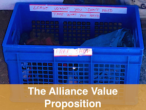 the alliance value proposition