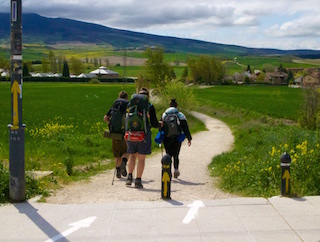 directions on the camino journey