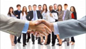 collaborative business world